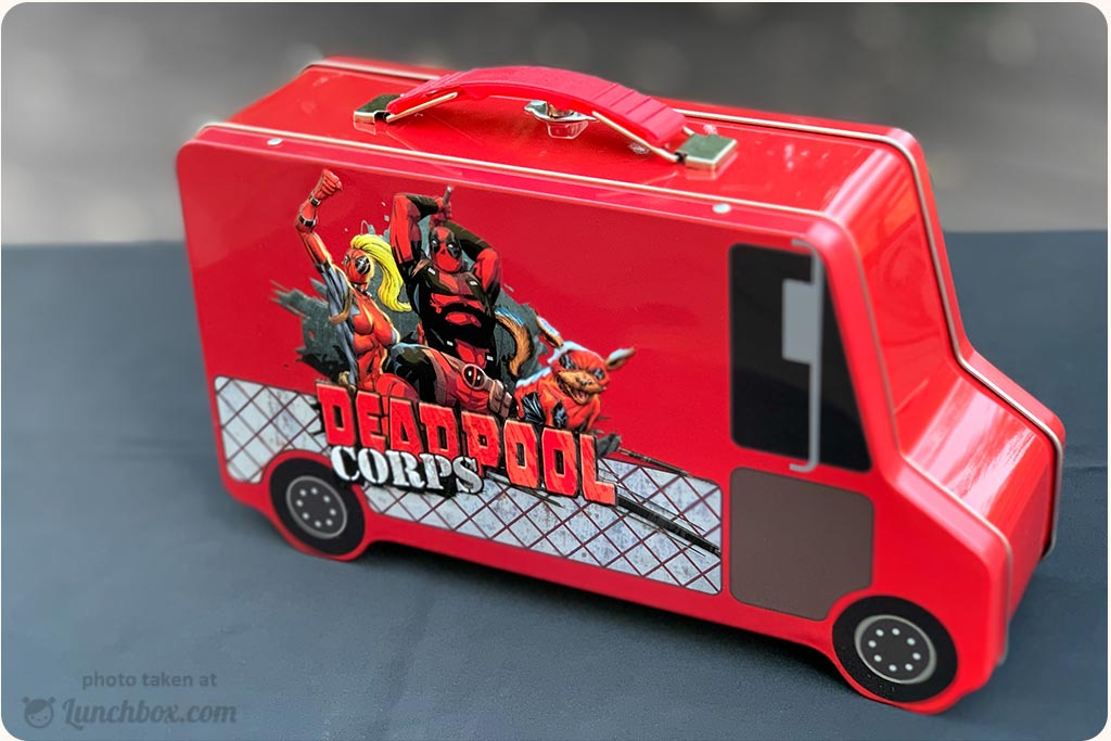 Deadpool Lunch Box