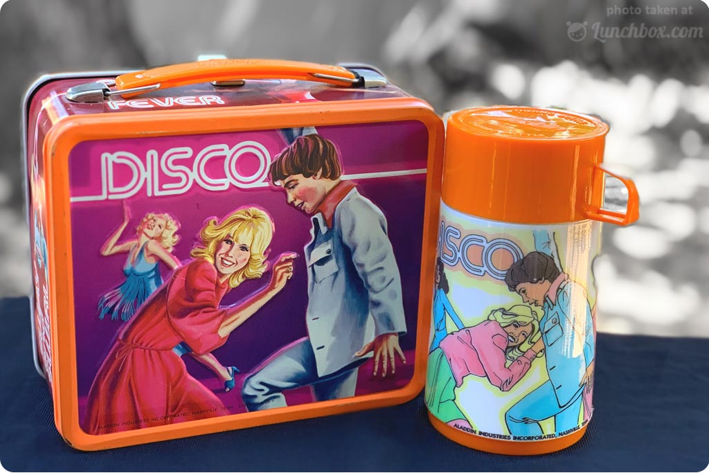 Disco Lunch Box with Thermos Bottle