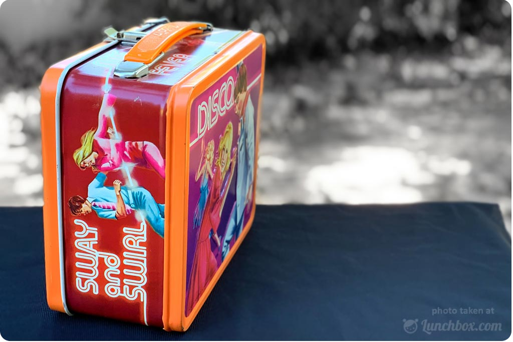 Disco Metal Lunch Box