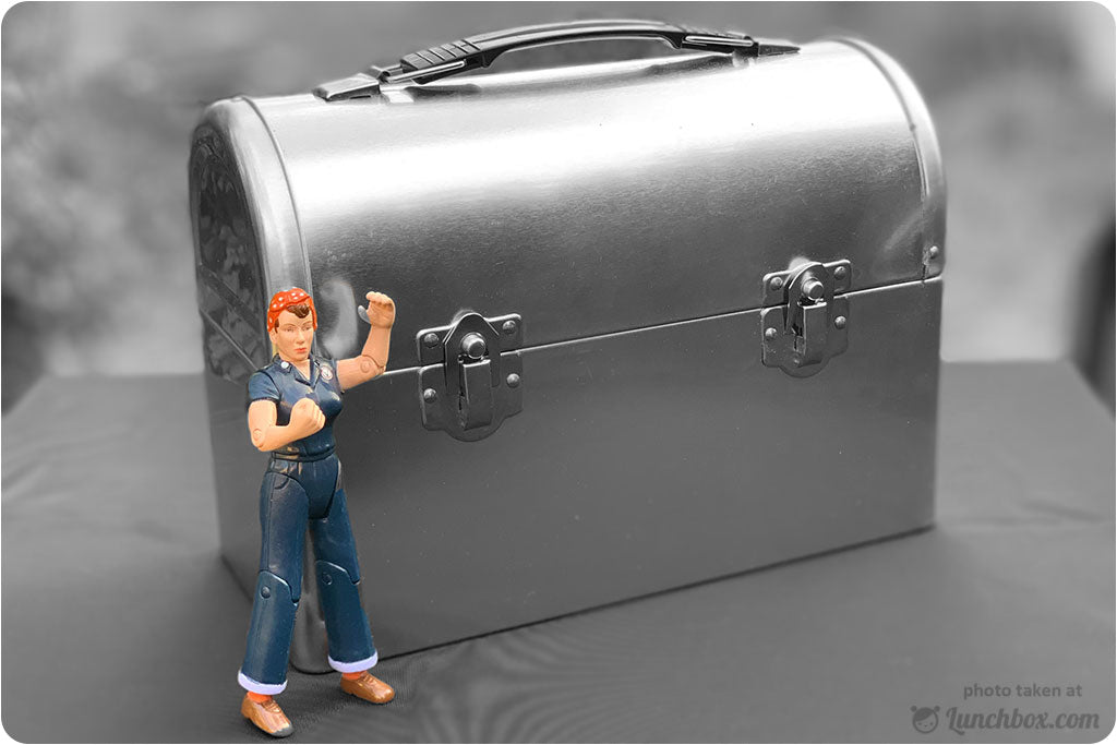 Dome Lunch Box Rosie the Riveter