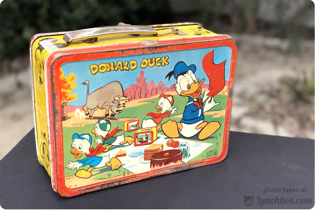 Donald Duck Lunch Box
