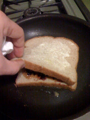 Grilled Peanut Butter Sandwich