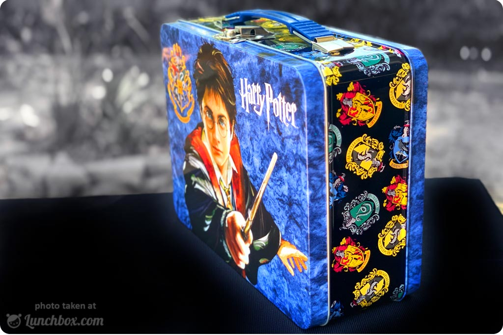 Harry Potter Metal Lunch Box