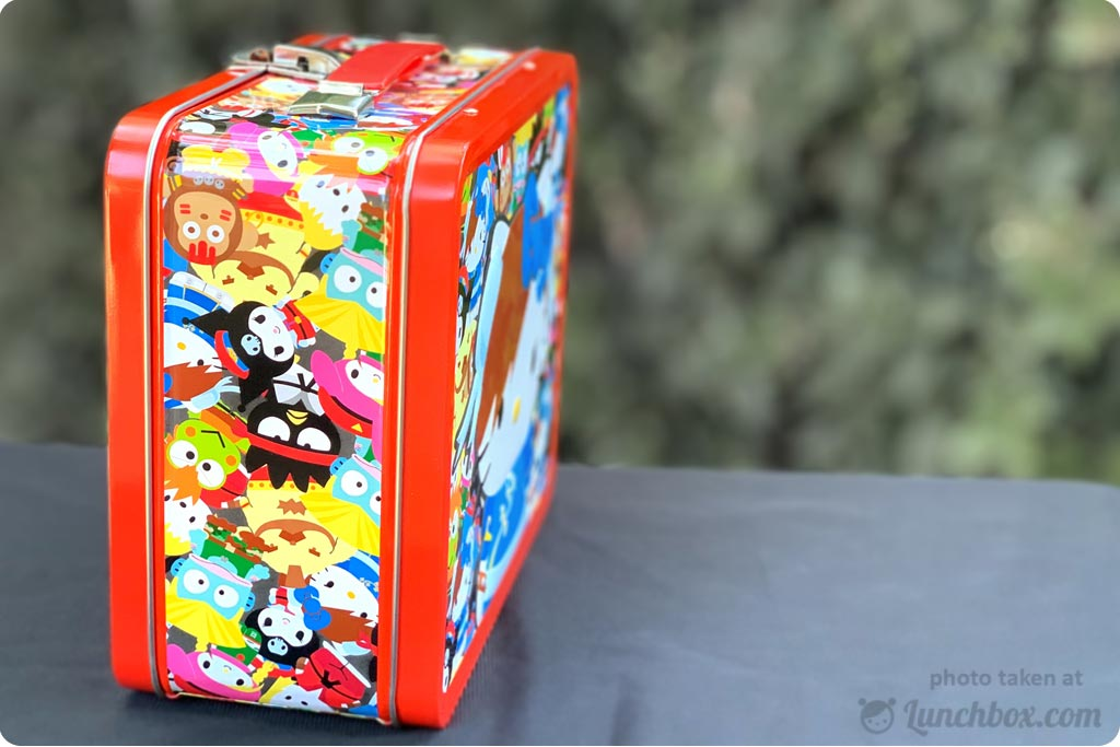 Hello Kitty Street Fighter Lunch Box
