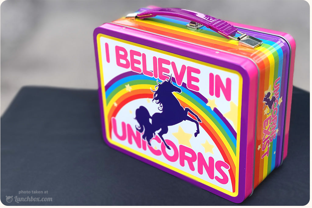 I Believe in Unicorn Lunch Box