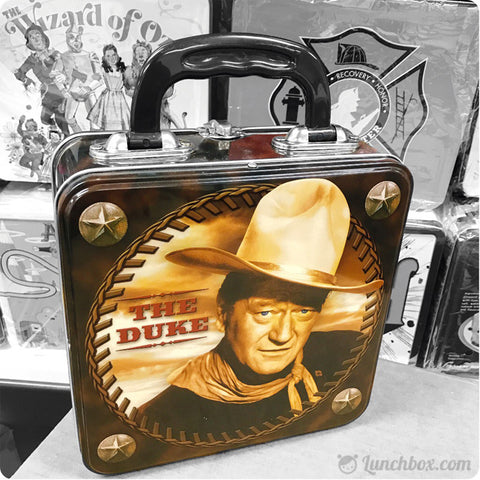 John Wayne Metal Lunch Box