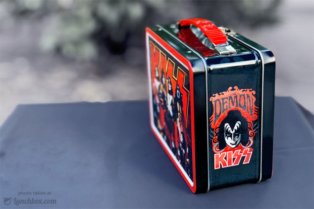 KISS Vintage Lunch Box