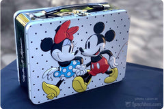Minnie and Mickey Mouse Embossed Lunch Box