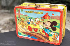 Mickey Mouse Lunch Box