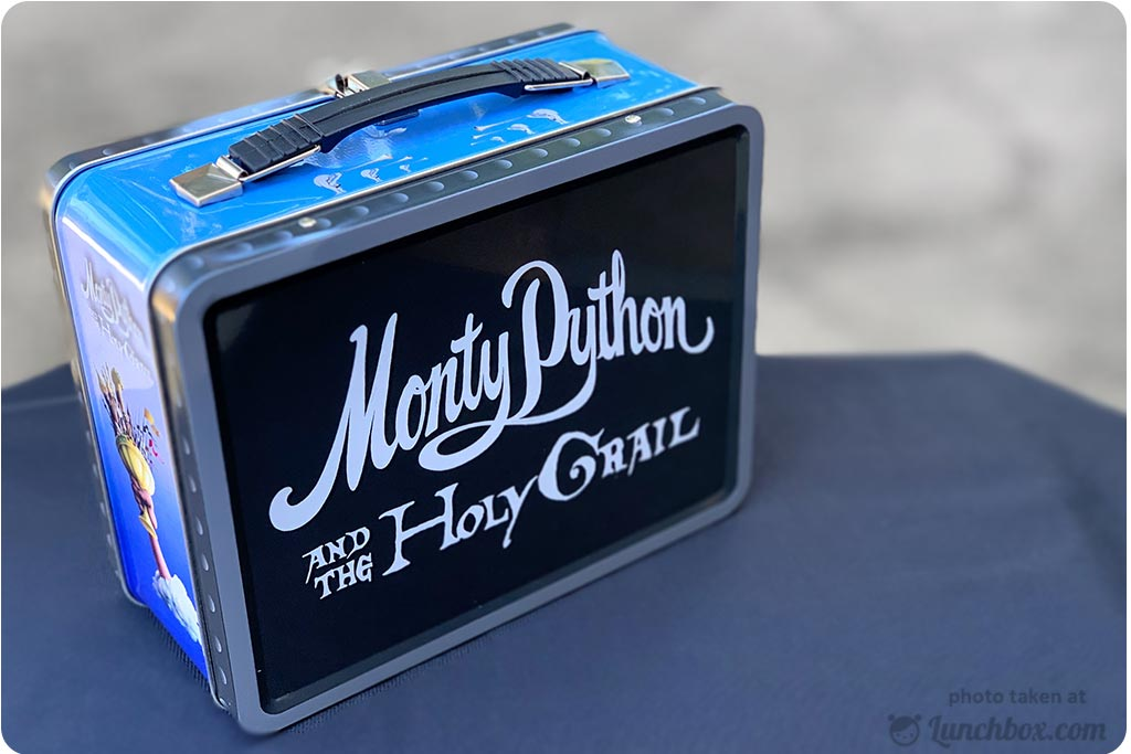 Monty Python Holy Grail Lunch Box