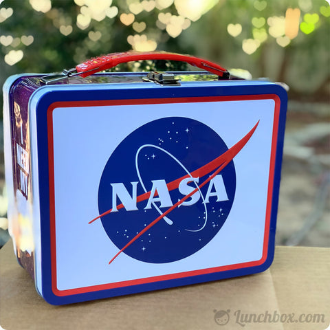 NASA Vintage Lunch Box