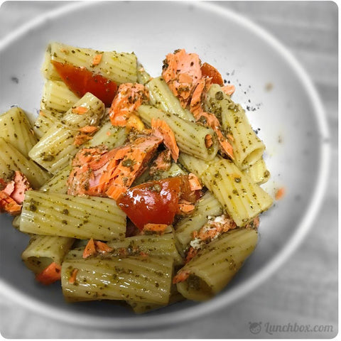 Pasta with Salmon Dinner