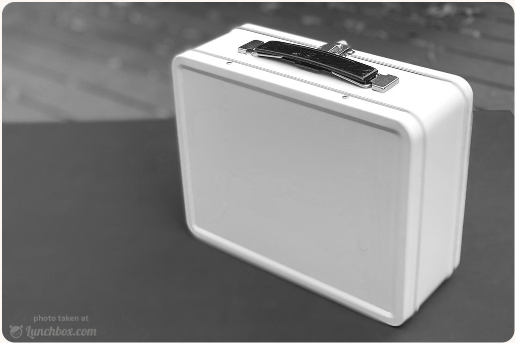 White Lunch Box