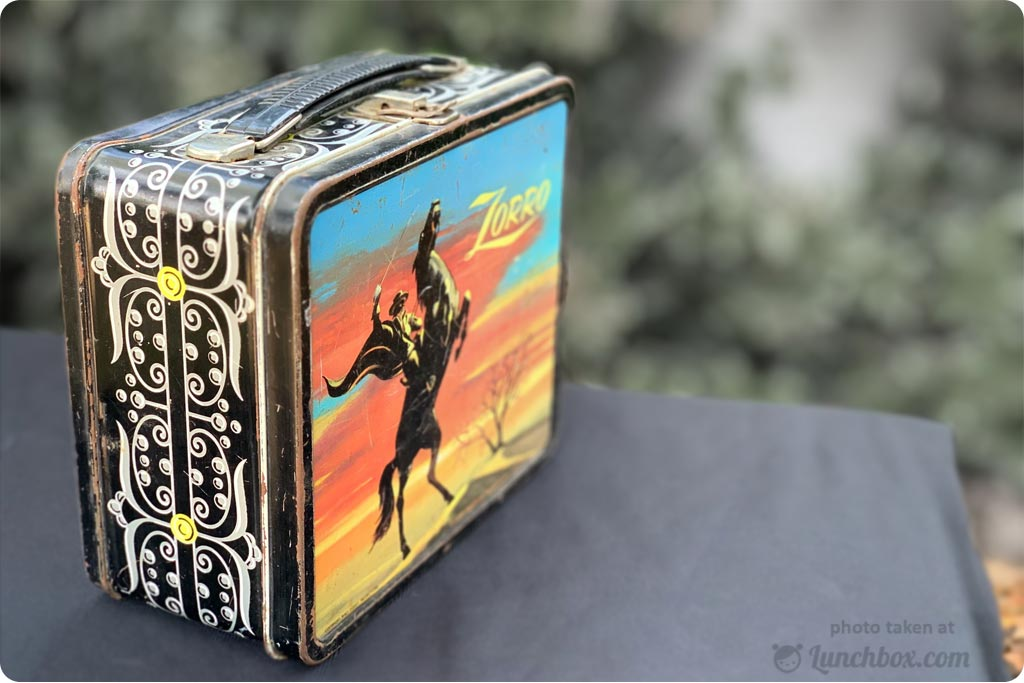 Zorro Collectors Lunchbox
