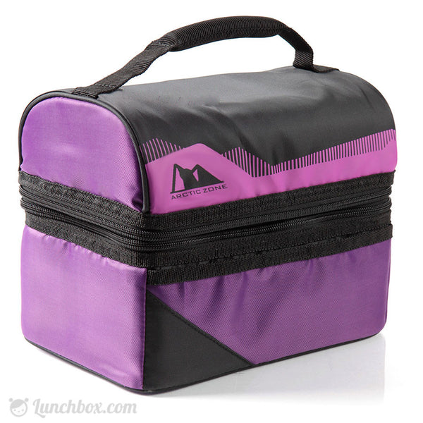 Standard Insulated Dome Lunchbox Purple Lunchbox Com