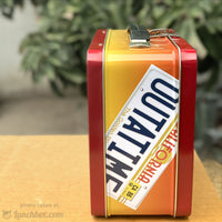 Back to the Future Metal Lunch Box