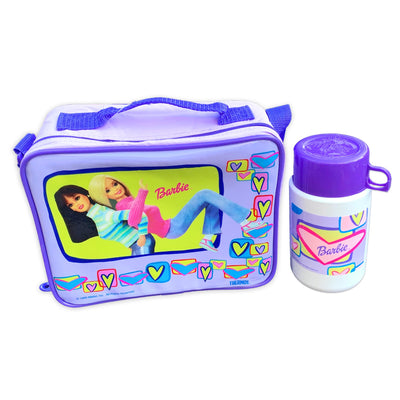 Barbie Lunch Box with Thermos Bottle
