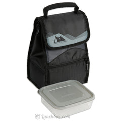 Powerpack Insulated Lunch Box - Black
