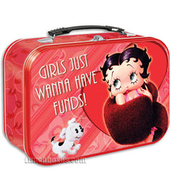 Betty Boop - Girls Just Wanna Have Funds - Lunchbox