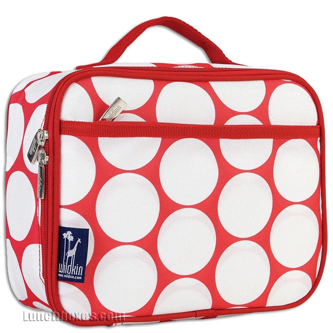 Big Dots - Red and White - Lunch Box