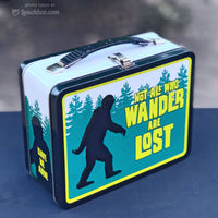 Bigfoot Embossed Lunch Box