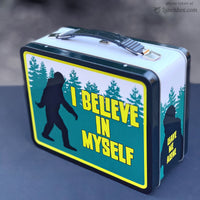 Bigfoot Metal Lunch Box