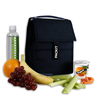 PackIt Personal Cooler Lunch Bag - Black
