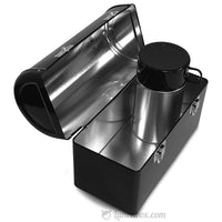 Black Dome Lunchbox with Thermos Bottle