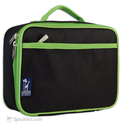 Insulated Black Lunch Box