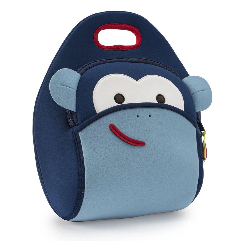 Blue Monkey Lunch Bag