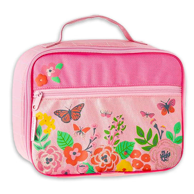 Butterfly Floral Lunch Box