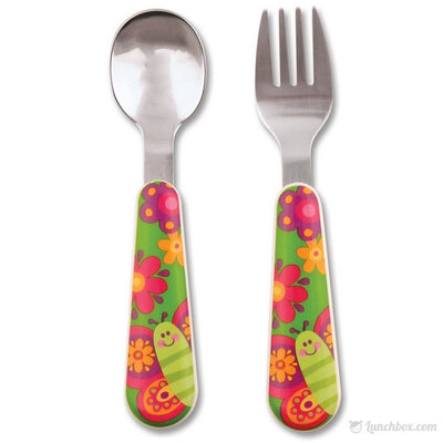 Butterfly Silverware Set