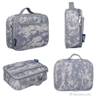 Camo School Lunch Box