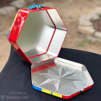 Captain Marvel Metal Lunch Box