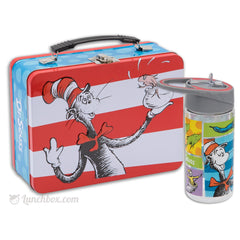 Cat in the Hat Lunch Box with Water Bottle