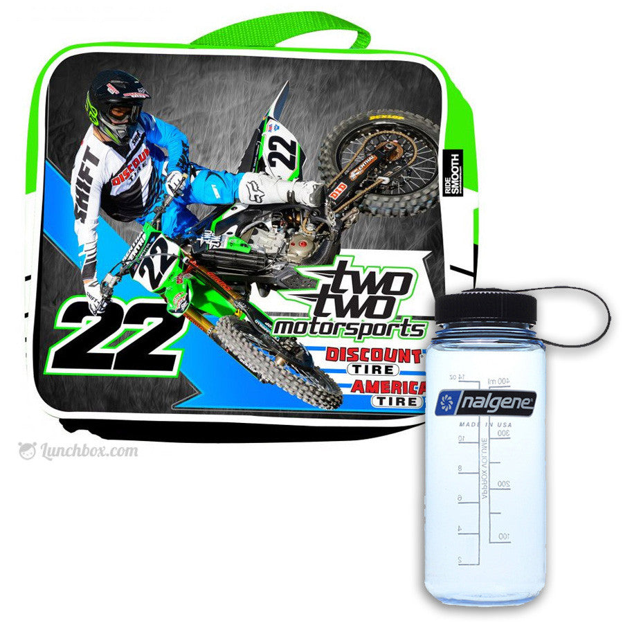 Chad Reed Lunchbox with Thermos Bottle