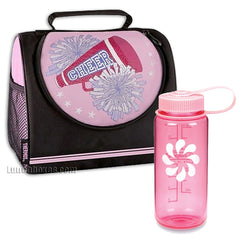 Cheerleader Insulated Lunchbox with Bottle
