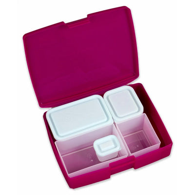 Classic Bento Lunch Box - Raspberry Blue
