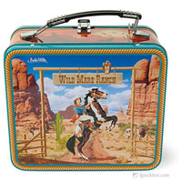 Cowgirl Metal Lunch Box