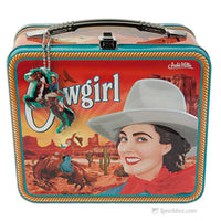 Cowgirl Vintage Lunch Box