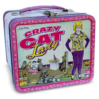 Crazy Cat Lady Lunch Box