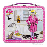 Crazy Cat Lady Metal Lunch Box