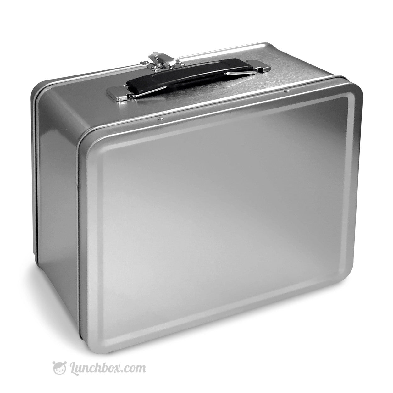 Wonderful Metal Lunch Tin Part - 1: Plain Metal Lunch Box