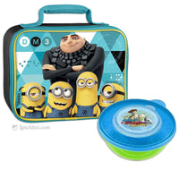 Despicable Me Lunchbox with Sandwich Box