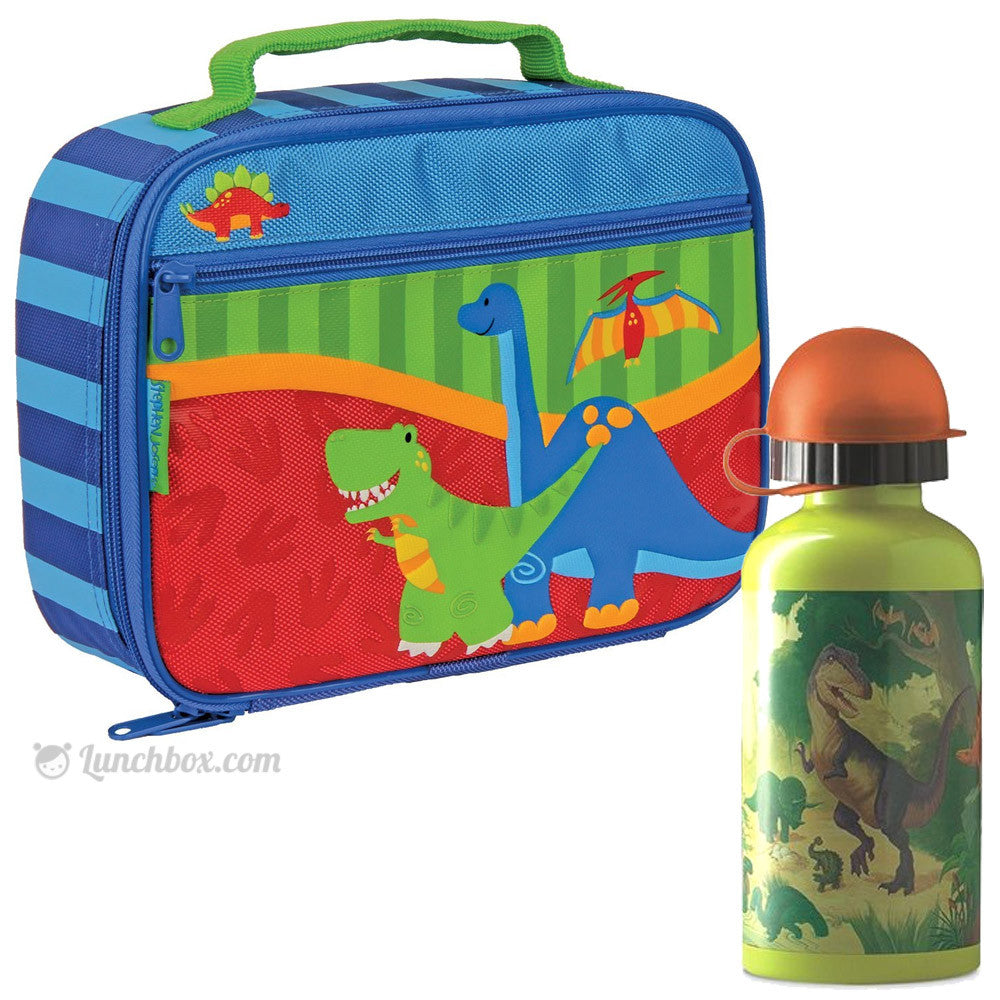 Dinosaur Lunch Box with Thermos Bottle
