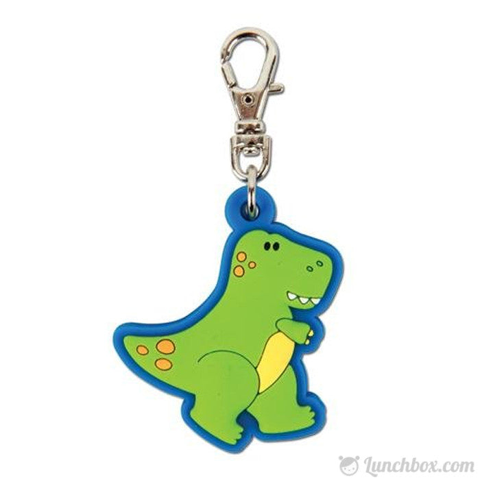 Dinosaur Lunch Box Zipper Pull