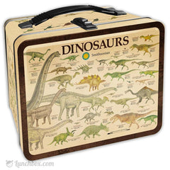 Dinosaurs Metal Lunch Box