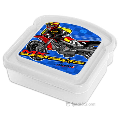 Dirtbike Boys Sandwich Box