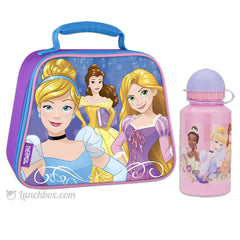 Disney Princess Lunch Box with Water Bottle