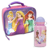 Disney Princess Lunchbox with Thermos Bottle